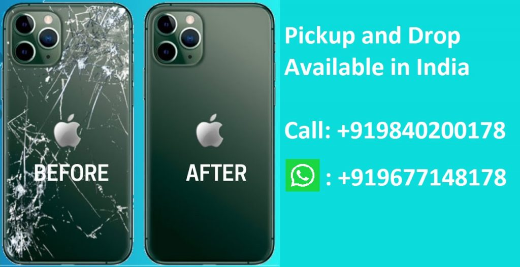 Apple iPhone 11 Pro Back Glass Replacement Cost in Chennai India