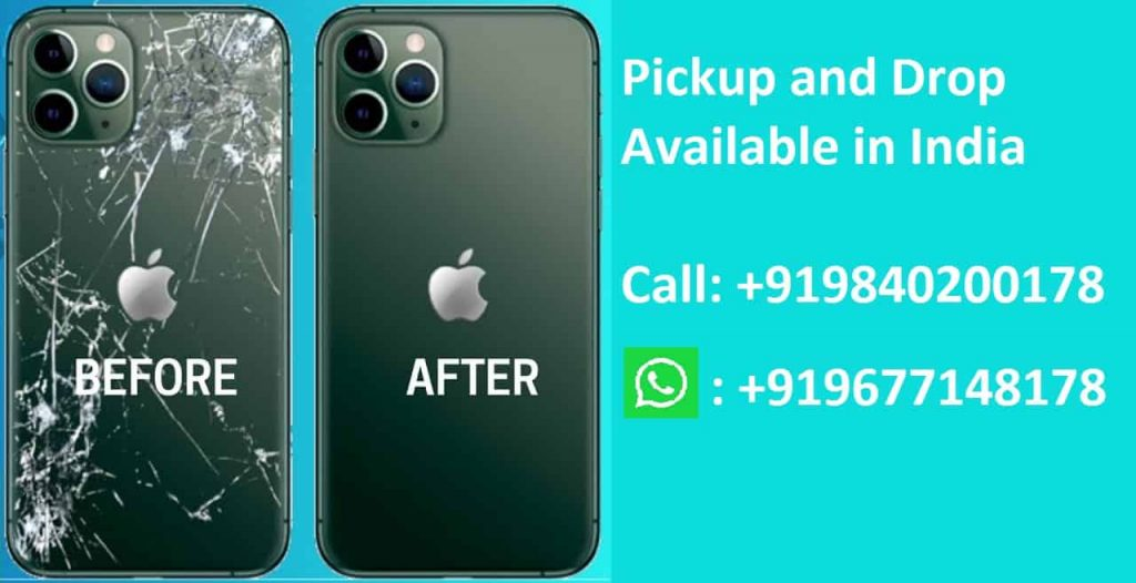 Apple iPhone 12 Pro Back Glass Replacement Cost in Chennai India